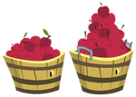 MLP Resource: Apple Buckets by ZuTheSkunk