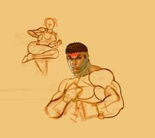 Scrapped Ryu Illus. -TEST by gammon