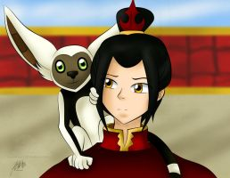 Continuous Life - Azula by agent-ayu