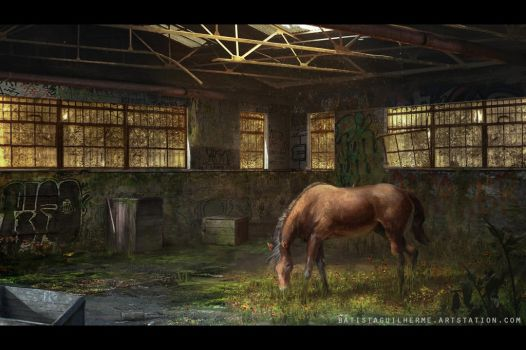 Abandoned Warehouse - End by guilherme-batista