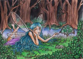 +Contest Entry+ Lilyblue and Seraphina by Ydriss