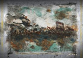 Hiccup's Quest - Fresco of Warfare by masterrohan