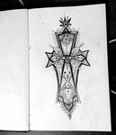 cross design by dinoCUNTasaurus
