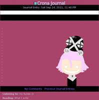 Crona Journal Skin by Pekoponian