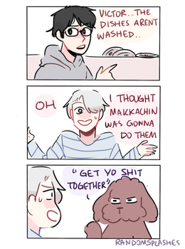 YOI: DO THE DISHES by Randomsplashes