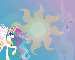 Celestia Wallpaper by ilikestitchy