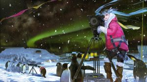 Miku in Antarctic Circle by el-zheng