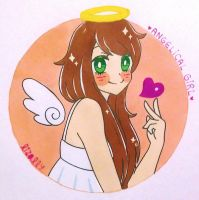 Angelic Girl by Lizally