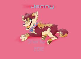 Jenny (Ref Sheet) by Sharlia