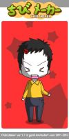 Microsoft Sam Chibi (davemadson, Tantrum Mode) by Averon25