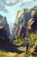 sketch Valley 05-13  by Long-Pham