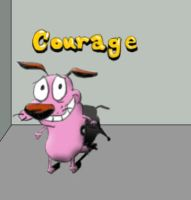 Courage by icecool683