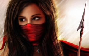 Masked Girl by AntopiaNetwork
