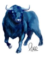 BLUE BULL by pakopincay