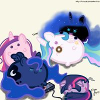 Blobs by treez123