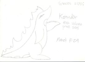 Planet F29: Kemudor - Species 2170 by XDTheSnivy
