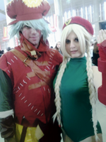 Cammy and Kite cosplay by AsakuraYumiChan