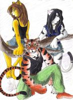 deadly trio by chickiedee