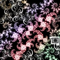 Deco Fractal Brushes 2 of 7 by LightArtist