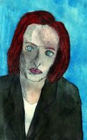 Dr. Dana Scully by Raiderhater1013