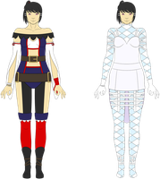 Hikari - Outfit Concept Art by Tagrberry
