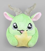 Sasha the Puff Monster Plush by SewDesuNe
