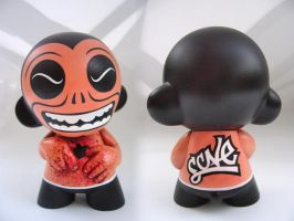 Heart Snatcher mini Munny by scavenjer