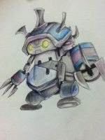 Full Metal Rammus- League of Legends by Hamzilla15