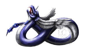 Dragonair by Fucal