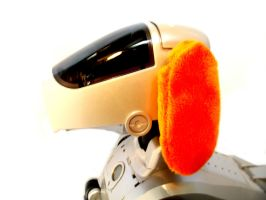 Aibo Cozies: Orange by bunniesRawesome