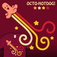 Octo-Hotdog by amegoddess