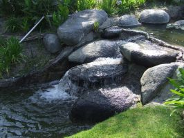 Rock Fountain 7 by dtf-stock