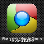 iPhone style - Google Chrome by mrsarun
