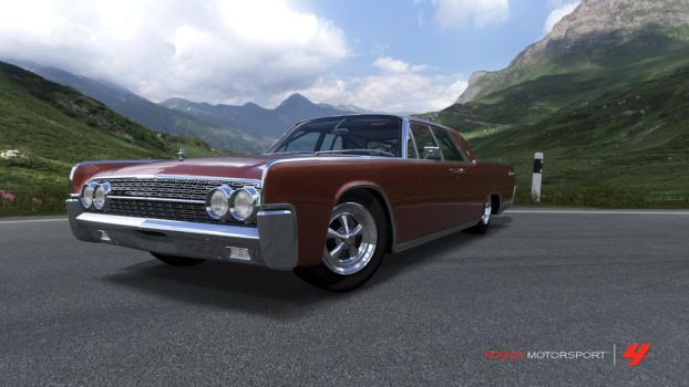 1962 Lincoln Continental by Raz-Sukal