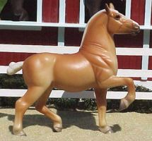 Breyer Stablemate G3 Draft by WolfWhisper