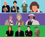 The 11 Doctors (Saul Bass Inspired) by natestarke