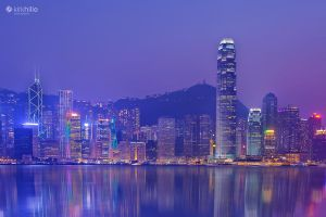 Hong Kong City Lights by Furiousxr