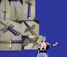 Grimmjow's Pantera : Finished by naturally-morbid