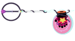 The Crystal Keyblade by Tough-and-Heartless