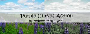 Purple Curves actions by Insan-Stock