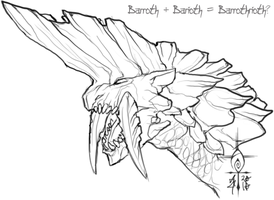 Barrothrioth by Anuwolf