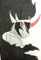 King Sombra Drawing by BrickDaddy4