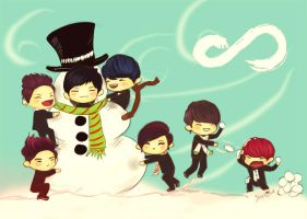 INFINITE - Merry Christmas~ 2012 by jinscloud