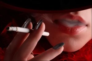 Hat and smoke by seycom