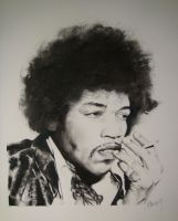Jimi Hendrix by Frenchtouch29