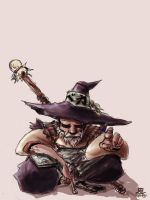 old fool by Zeng