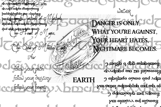 Middle Earth Gimp Brushes by ice-song