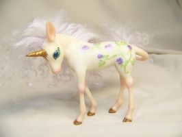 """Rosie""  ooak unicorn pony by AmandaKathryn"