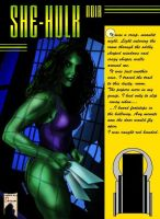 She-Hulk Noir by THE-Darcsyde