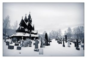 Stavkyrka _ old church by ImStuck